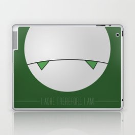 I ache, therefore I am Laptop & iPad Skin