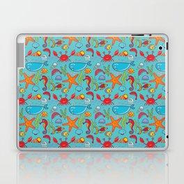 Cute Kids Ocean Sea Life Marine Pattern Laptop & iPad Skin