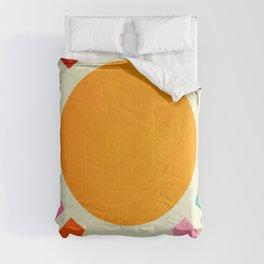 Retro Sunrise: Rainbow Edition Comforters