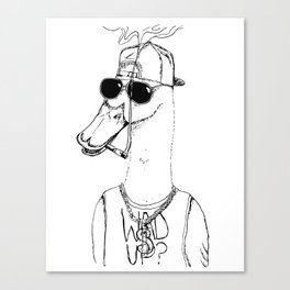 Brother Duck  Canvas Print