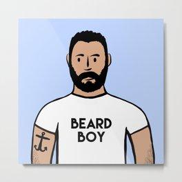 Beard Boy: Charlie Metal Print