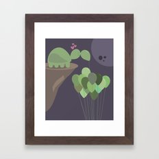 A Sad Love Framed Art Print