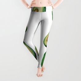 avacado white Leggings