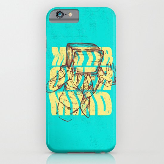 Matter Over Mind iPhone & iPod Case