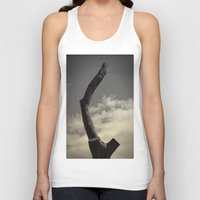 naked Tank Tops featuring Naked by Fine2art