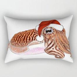 Merry Cuttlefish-mas Rectangular Pillow