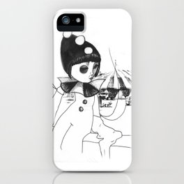 Pierrot the clown iPhone Case
