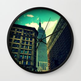 empire state building New York Wall Clock