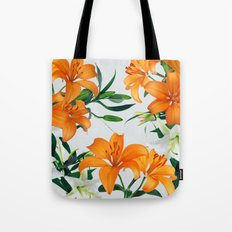 Glorious Lilies Tote Bag