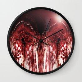 Strawberry Folded And Fluffed v.5 Wall Clock
