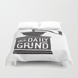DAILY GRIND Duvet Cover