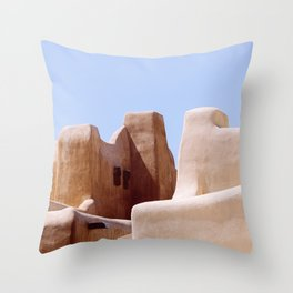 Colors of Santa Fe Throw Pillow