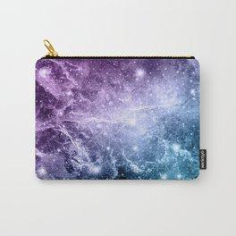 Purple Teal Galaxy Nebula Dream #4 #decor #art #society6 Carry-All Pouch