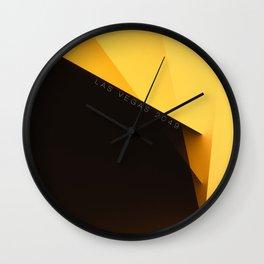 Las Vegas 2049 Wall Clock