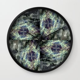 Scaffold Of Time Wall Clock