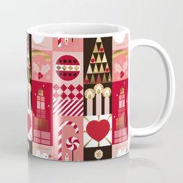 Christmas Mosaic Coffee Mug