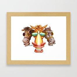 Cool Horse Framed Art Print