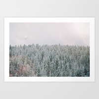 montana Art Prints featuring Montana by McKai Morgan