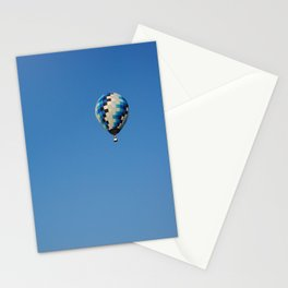 Blue Balloon Stationery Cards