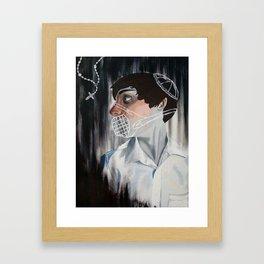 Muzzled Framed Art Print