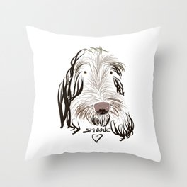 SpinoneLove Vivi 1 Throw Pillow