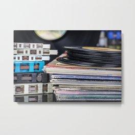 Music Collection 21 Metal Print