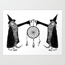 Dream Wizards Art Print