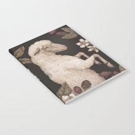 The Sheep and Blackberries Notebook