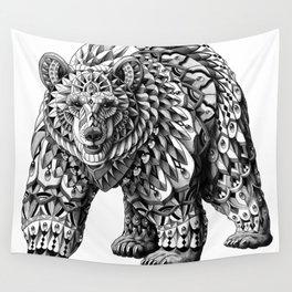 Ornate Bear Wall Tapestry