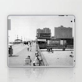 Atlantic City Boardwalk 1920, Apollo Theatre, Mitzi Laptop & iPad Skin