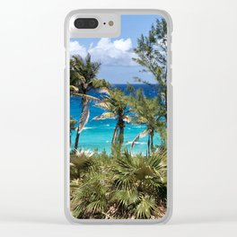 Afternoon Breeze in the Bahamas Clear iPhone Case