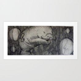 Money-tee Art Print