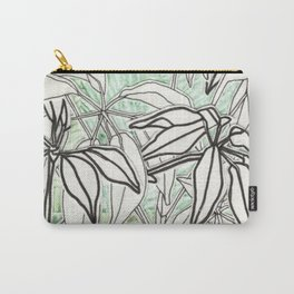 Green and Leafy Carry-All Pouch