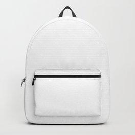Aim High & Dream Big in White Backpack