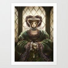 Anne of Sleeves Art Print