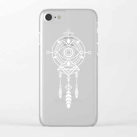 Cosmic Dreamcatcher Clear iPhone Case