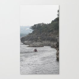 Reluctant Morning Canvas Print