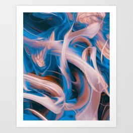Ibi Art Print
