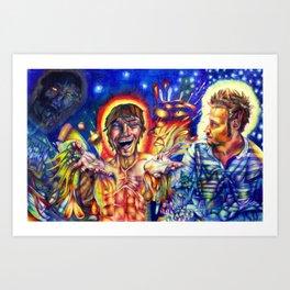 Trinity - Colored Pencil Drawing - Andrew Kaminski Art Art Print