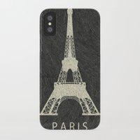 paris iPhone & iPod Cases featuring Paris by Les petites illustrations