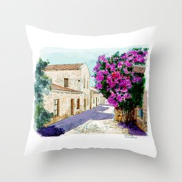 old datca Throw Pillow