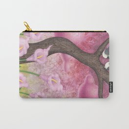 chickadees and calla lilies Carry-All Pouch