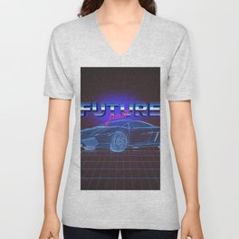 FUTURE past Unisex V-Neck