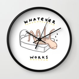 Honest Blob - Whatever Works Wall Clock