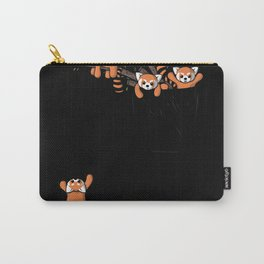 Pocket Red Panda Bears Carry-All Pouch