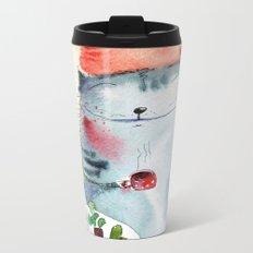 cactus addict Metal Travel Mug