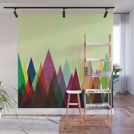 Color Peaks Wall Mural
