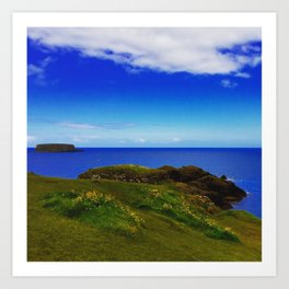 Everything Is Blue And Green Art Print