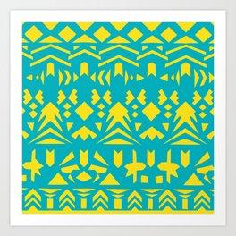 Paper cut collection-01 Art Print