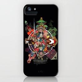 animation spirited iPhone Case